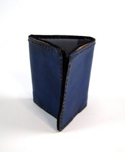 Blue Leather Surfer Wallet