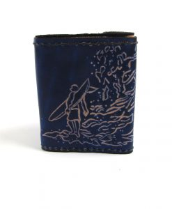 Blue Surfer Wallet