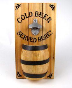 Barrel Bottle Opener