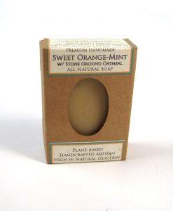 Sweet Orange-Mint Soap