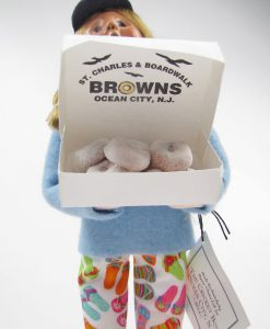 Brown's Doughnuts Byers Doll