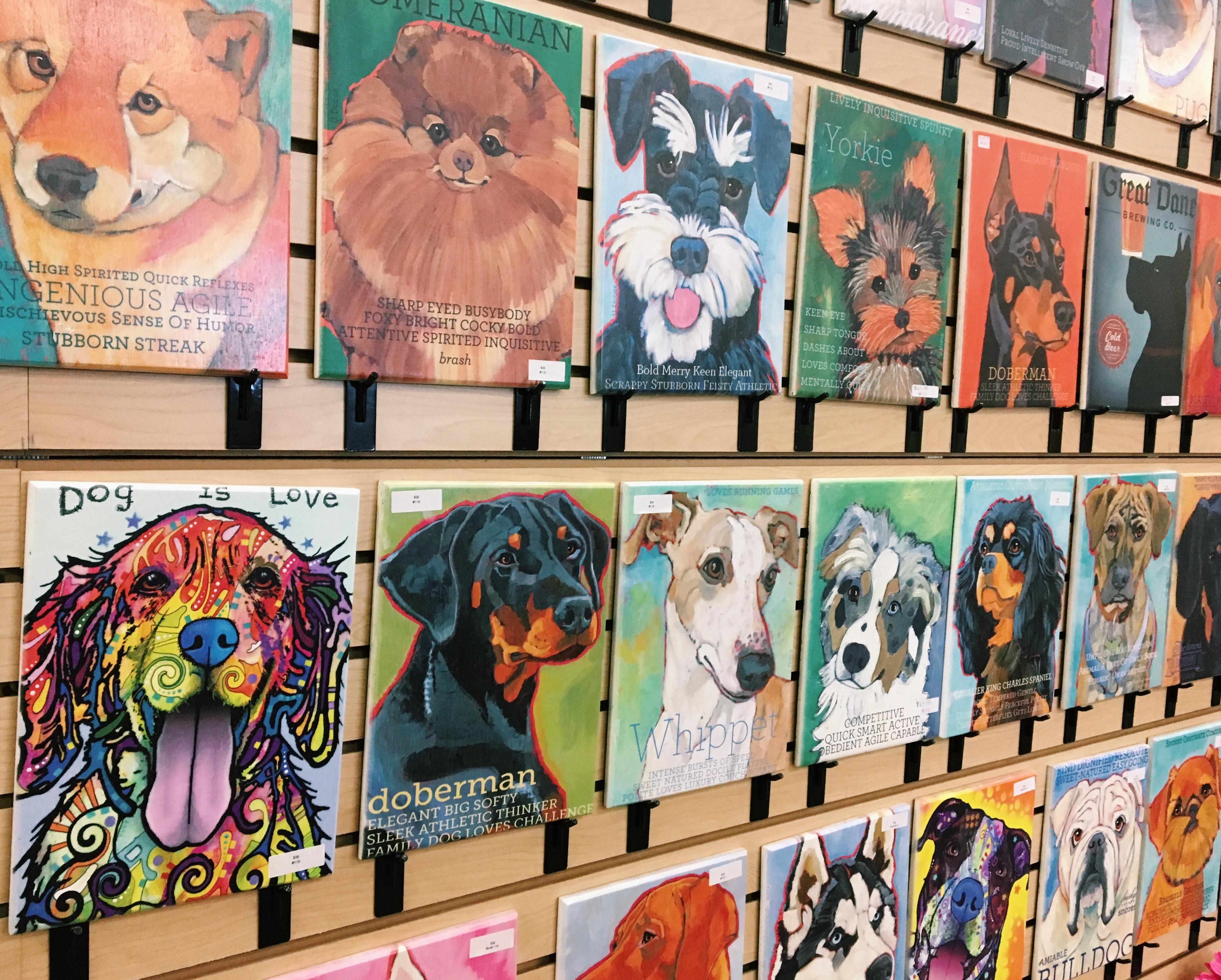 Dog Breed Artwork