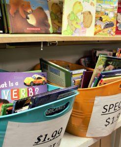 Assorted children's books