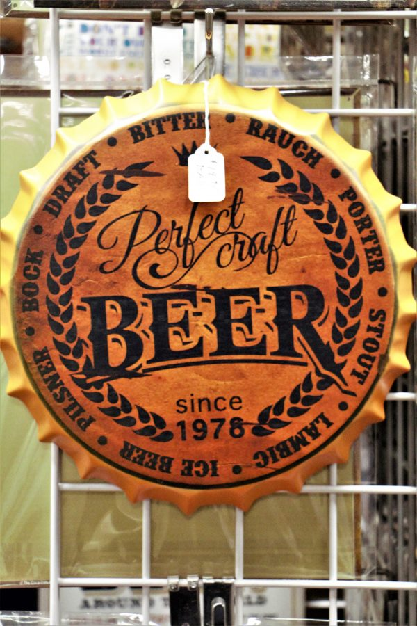 beer wall sign