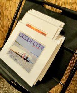Ocean City Print