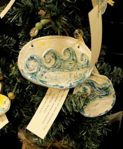 Ocean Wave Ornaments