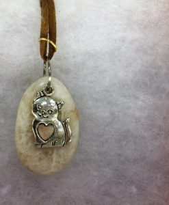 Kitty Cat Pendant Necklace
