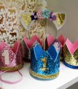 Baby's First Birthday Crowns
