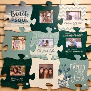 Puzzle Piece Decor