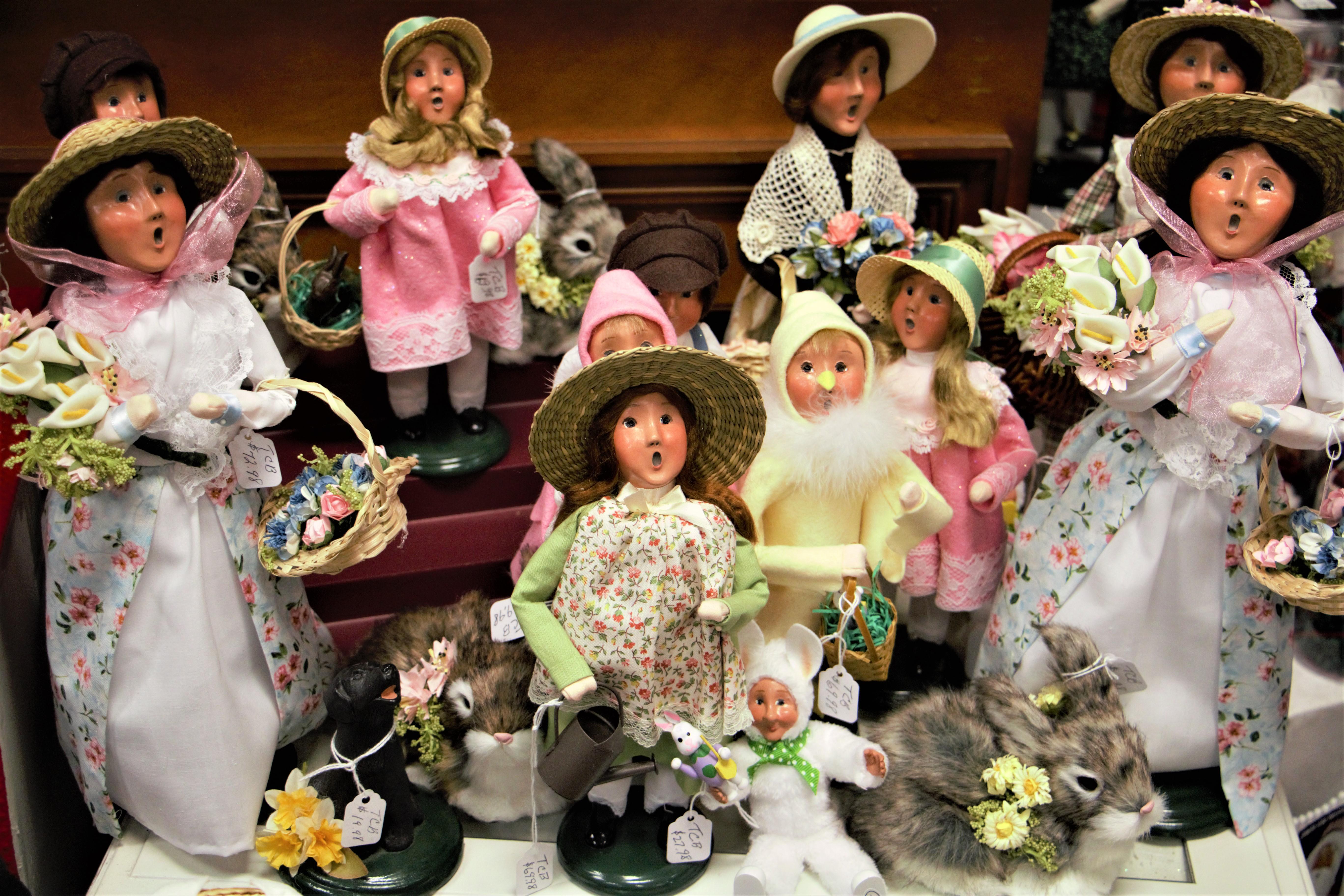 Byers Choice Dolls
