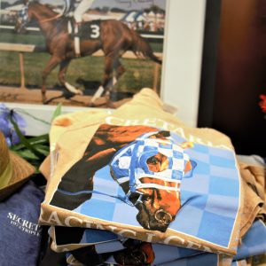Printed Tee Shirt of Racing Legend Secretariat