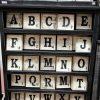 Scrabble Tile Wood Blocks