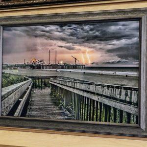 thunderstorm art
