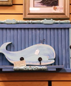 Shutter Shelf with Whale